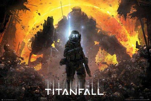 Empire Merchandising 653.260 Titanfall Milizia pilota Games formato poster 91.5 x 61 cm