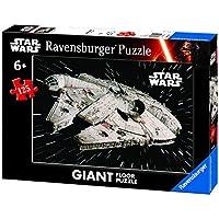 Ravensburger Italy 09784 5 - Puzzle Star Wars Millennium Falcon, 125 Pezzi Giant