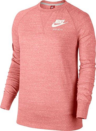 Nike W Nsw Gym Vntg Crew Damen-Langarmshirt BRIGHT MELON/SAIL
