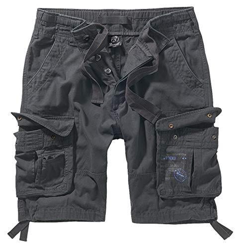 Brandit Pure Vintage Shorts, Anthrazit 7XL