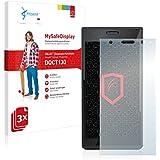 3x Vikuiti MySafeDisplay Film(s) de protection d'écran DQCT130 de 3M pour Panasonic Lumix DMC-CM1