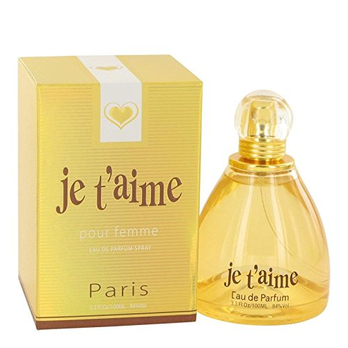 Je T'aime by YZY Perfume Eau De Parfum Spray 3.3 oz / 100 ml (Women)