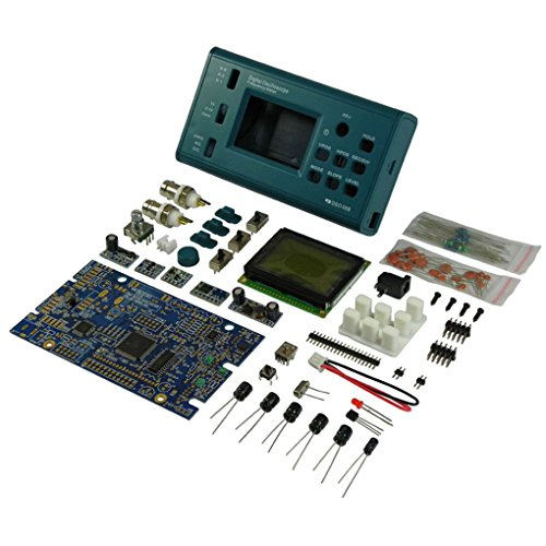 fgghfgrtgtg DSO068 Oszilloskop Digitalspeicher-Oszilloskop DIY Kit zerlegten Teile mit LCD 20MHz Probe Teaching Set -