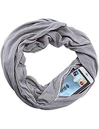 fd0ce00807a4 MUXItrade Écharpe portative pour Femme avec écharpe de Poche All Écharpe ...