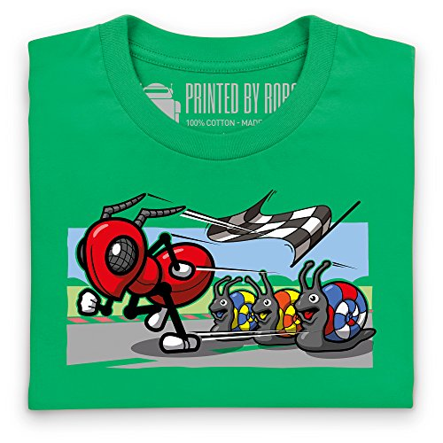 Red Ant T-Shirt, Herren Keltisch-Grn