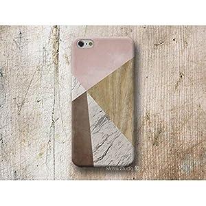 Rosa Holz Weiß Marmor Hülle Handyhülle für Huawei P30 P20 P10 P9 P8 Lite Mate 30 20 10 9 Pro Lite Y7 2019 Y6 Y5 2018 P Smart 2019 Z Case Cover