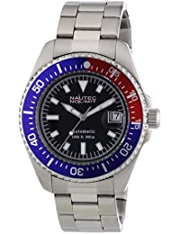 Nautec No Limit Herren-Armbanduhr Deep Sea STSTRBBLBK