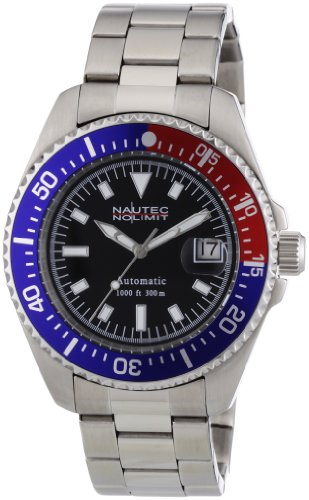 Nautec No Limit Herren-Armbanduhr Deep Sea STSTRBBLBK