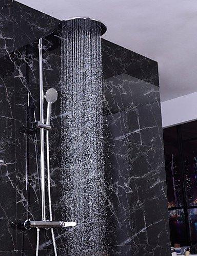 CELO Duscharmaturen / Waschbecken Wasserhahn - Zeitgenössisch - Regendusche - Messing ( Antikes Messing )