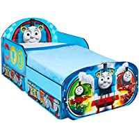 Hello Home Thomas and Friends Toddler Bed with Underbed Storage, Wood