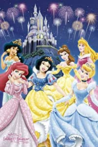 GB eye 61 x 91.5 cm Disney Princess Glamour Maxi Poster, Assorted