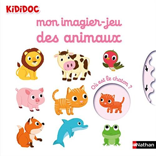 Vignette du document Mon imagier-jeu des animaux