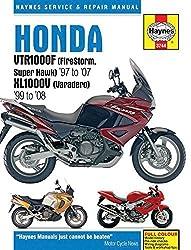 Honda VTR1000F (FireStorm, Super Hawk) '97 to '07 KL1000V (Varadero) '99 to'08 (Haynes Service & Repair Manual) by Editors of Haynes Manuals (2016-03-15)