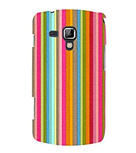 PrintVisa Designer Back Case Cover for Samsung Galaxy S Duos S7562 (Stripped Pattern)