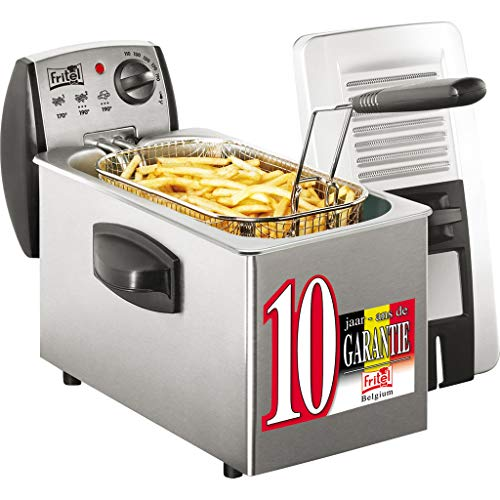 Fritel - 141022 - Friteuse, 2600 watts, Acier inoxydable