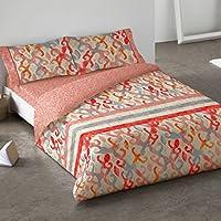 Burrito Blanco - Funda nórdica 080 Coral de cama de 135x190/200 cm