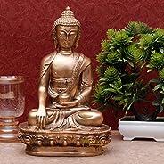 StatueStudio Meditating Buddha Idols For Home Decor Big Size Large Living Room Office Desk Table Outdoor Resin