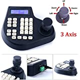 CCTV Joy Stick Keyboard controlador 3Axis LCD Display for PTZ Speed Dome Camera Control RS485