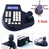 CCTV Joystick Keyboard Controller 3 Axis LCD Display for PTZ Speed Dome Camera Control RS485