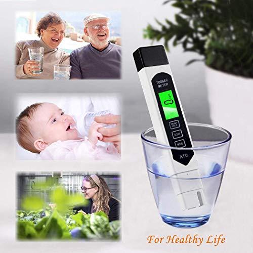 Fantiff Multifuncional Digital Agua Calidad Pureza