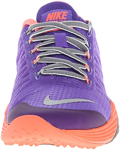 Nike Lunar Cross Element Sintetico Scarpe ginnastica Taglia Arancione-Viola