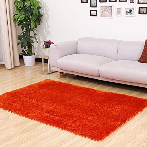 Teppich Shaggy Teppich Unicolor Einfarbig Teppich Farbecht Pflegeleicht, Fürs Wohnzimmer, Schlafzimmer Oder Kinderzimmer #1
