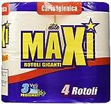 Maxi Carta Igienica Profumata, Blu, 3 Veli - Confezione 4 Rotoli