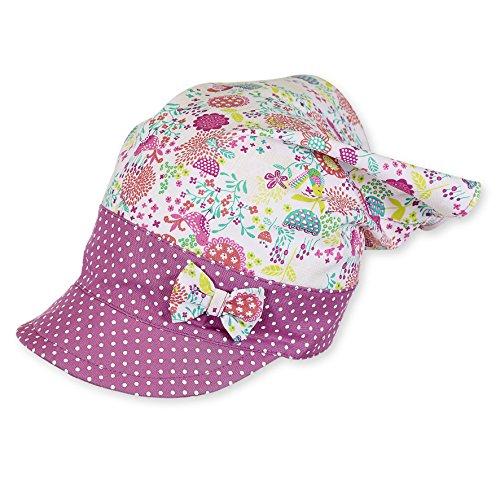 Sterntaler Baby-Mädchen Mütze Kopftuch, Violett (Hyazinth 644), 49