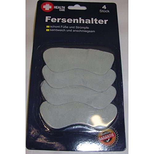 4x unisex Fersenpolster Fersenschutz Hackenschutz Fersenkissen Fersenhalter