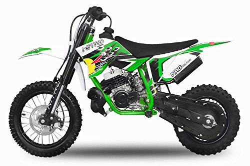 Dirtbike-49cc-NRG-50-1210-RS-Neues-Design-Cross-Pocket-Bike-ATV-Kinderfahrzeug