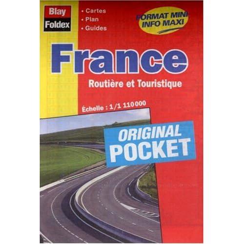 Carte routière et touristique : France (format pocket)