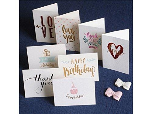 (Yyanliii Mehrere 1 Stück Grußkarte mit Umschlag Zum Erntedankfest Valentinstag Muttertag (zufällige Art))