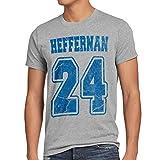 style3 Heffernan 24 T-Shirt Herren doug queens sitcom, Größe:XL;Farbe:Grau meliert
