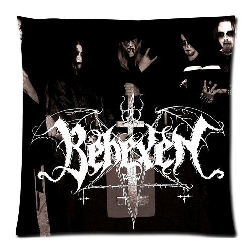 Generic BEHEXEN Pattern printed Custom Zippered Pillowslips Pillow Cases Standard Size 18x18 Inches (Twin sides)