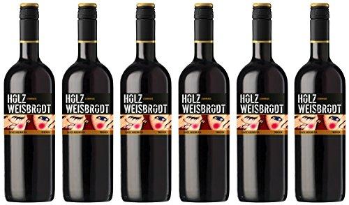 """Holz Weisbrodt, Weisenheim am Berg - Cuvée \""""Stammhaus - Augenblick\"""" Rotwein trocken - 6 x 1 Liter"""