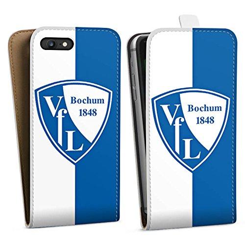Apple iPhone X Silikon Hülle Case Schutzhülle VfL Bochum Fußball Fanartikel Downflip Tasche weiß