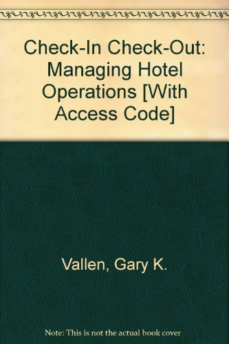 Check-in check-out / front office management simulation printed access code: managing hotel operations