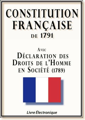 CONSTITUTION FRANÇAISE de 1791