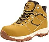 LARNMERN Mens Steel Toe Work Safety Boots, Anti-Piercing Outdoor Training Shoes Industry