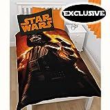 Star Wars Darth Vader Aufstieg Einzelbettbezug - exklusiver Entwurf!