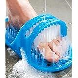 Moolten Waterproof Easy Foot Cleaner Shower Slipper for foot cleaner slipper Easy Feet Foot Cleaner/Shower Foot Feet Cleaner/Scrubber/Pumice Stone Massager (FOOT SPA)