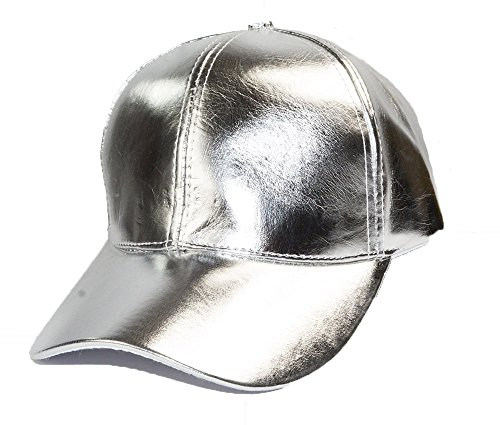 Cool New Style Metallic Silber Baseball GAP