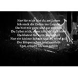 Rammstein - Ich mA - letras grandes - Dir Weh Rock Metal bellasdirect diseño laminado 150 la tapa transparente de alta calidad de la imagen tamaño carteles impresión fotográfica A4
