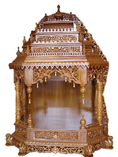Swaroop Carvings 0745734169677 Handcrafted Teak Wood