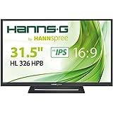 HANNSPREE HL326HPB 80cm 31,5Zoll IPS LED Display VGA 2xHDMI