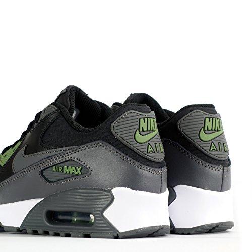 Nike Jungen Air Max 90 Mesh Gs Trainingsschuhe black-dark grey-palm green