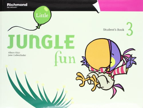 LITTLE JUNGLE FUN 3 STUDENT'S PACK