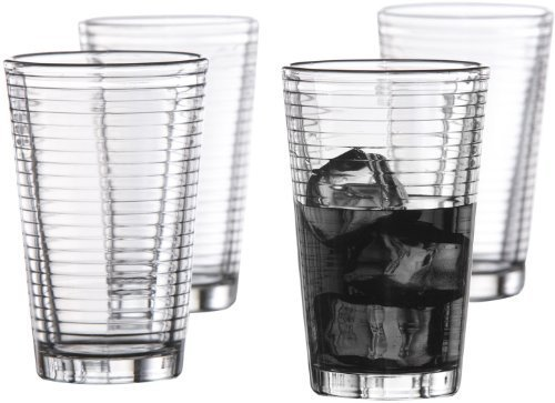 Style Setter Uptown Highballs, Set of 4 by Jay Imports - Regal Highball