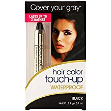 Cover Your Gray Hair Color Touch-Up Waterproof Black