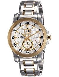 Seiko Mens Premier kinetische Uhr SNP094P1